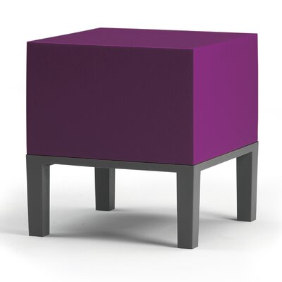 Primary Pouf Upholstery: Purple