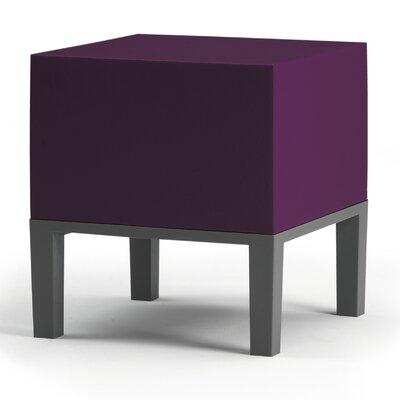 Primary Ottoman Upholstery: Dark Purple