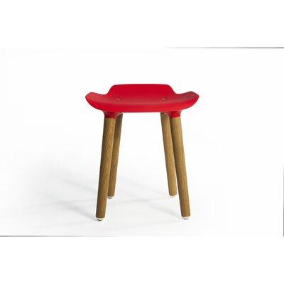 Pilot 18.5 Bar Stool Upholstery: Red
