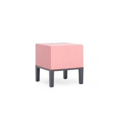 Primary Ottoman Upholstery: Flamingo
