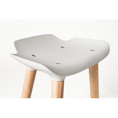 Pilot 18.5 Bar Stool Upholstery: Silver