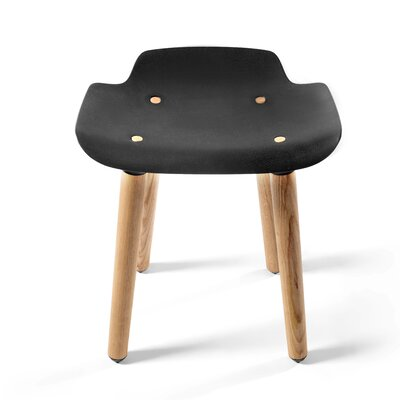 Pilot 18.5 Bar Stool Upholstery: Black