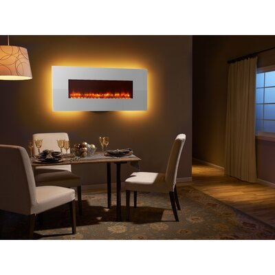 Best Value for Simplifire SF-WM58-WH 58″ Modern Linear Wall Mount Electric  Fireplace Finish: White. Compare Prices and Reviews! - Simplifire SF-WM58-WH 58