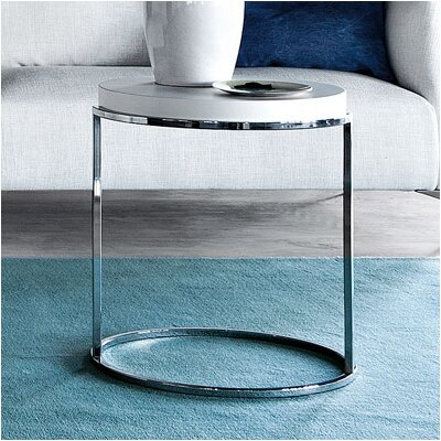 Servogiro C Table Color: White High Gloss