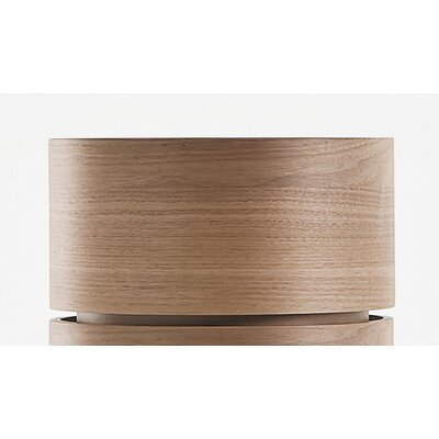 Dedalo 1 Drawer Nightstand Color: Walnut