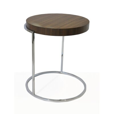 Servogiro C Table Color: Walnut