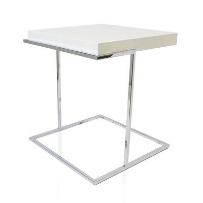 Servoquadro End Table Color: White High Gloss