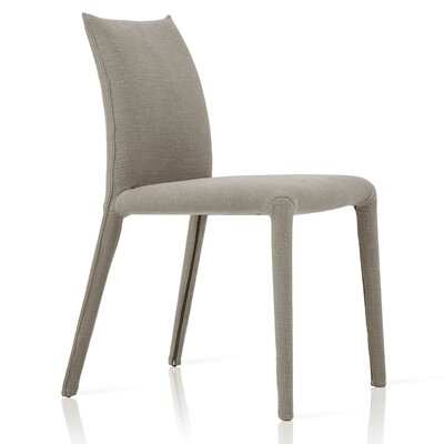 Emi Side Chair Upholstery: Light Grey