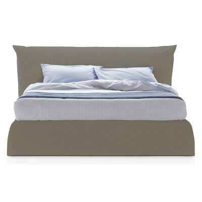 Piumotto Upholstered Platform Bed Size: King, Upholstery: Light Brown
