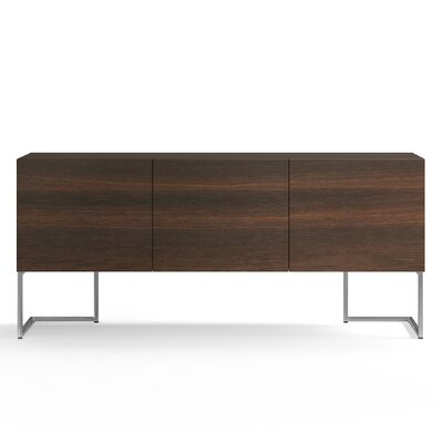 Spazio Sideboard Color: Burnt Oak