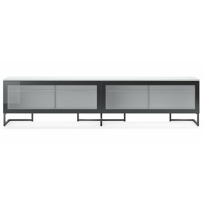 Spazio 95 TV Stand Color: White High Gloss / Lavagna Matt Lacquer