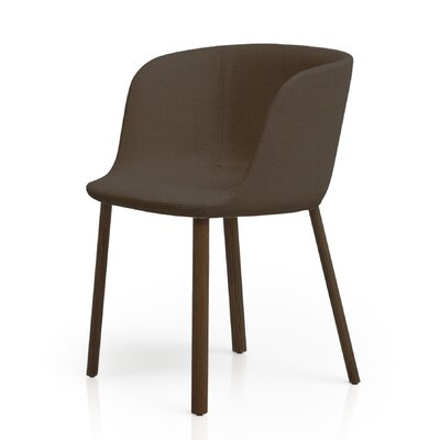 Esse Barrel Chair Color: Eco Dark Brown