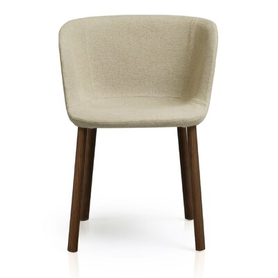 Esse Barrel Chair Upholstery: Soft Brown