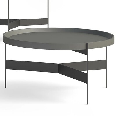 Abaco Coffee Table Size: Medium, Top Color: Lavagna Lacquer