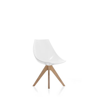 Gamma Side Chair Finish: Natural Oak/Matte