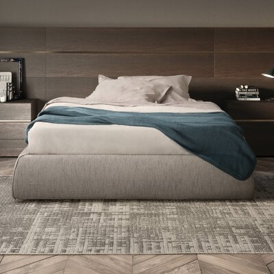 People Composition Impundo Upholstered Platform Bed Size: King