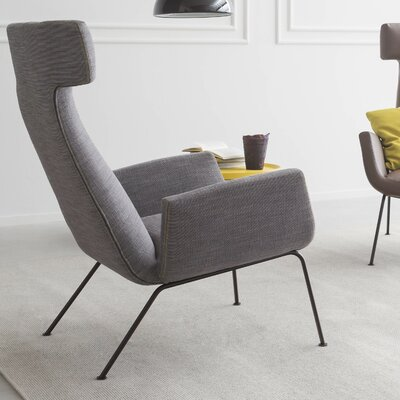 Dora Kos 51 Fabric Pianca Lounge chair