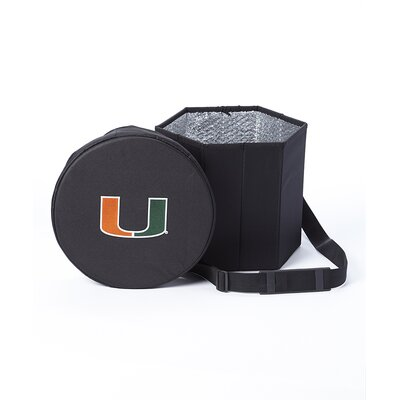 My Owners Box Fold Flat Cold Storage Seat Cooler - NCAA Team: University of Miami