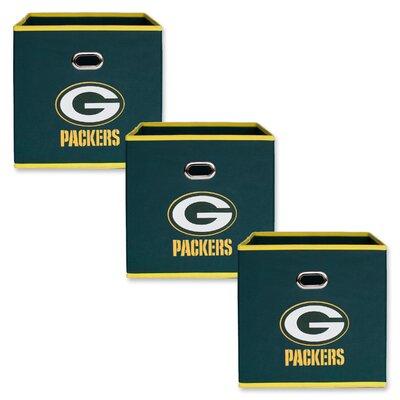 NFL Fabric Storage Bin NFL Team: Green Bay Packers 11000-310GBP