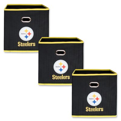 NFL Fabric Storage Bin NFL Team: Pittsburgh Steelers 11000-303PIT