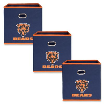 NFL Fabric Storage Bin NFL Team: Chicago Bears 11000-300CHI
