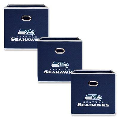 NFL Fabric Storage Bin NFL Team: Seattle Seahawks 11000-300SEA