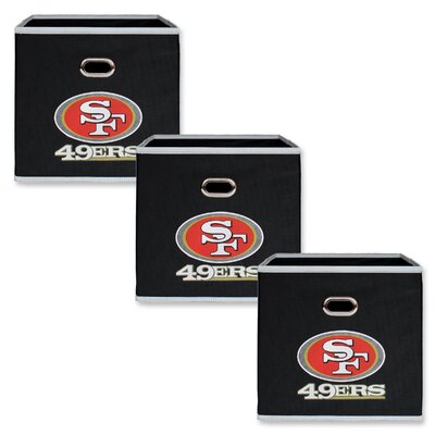 NFL Fabric Storage Bin NFL Team: San Francisco 49ers 11000-303SAN