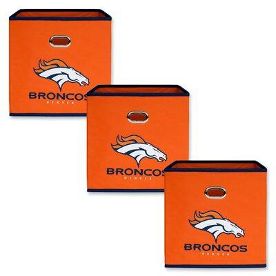 NFL Fabric Storage Bin NFL Team: Denver Broncos 11000-309DEN