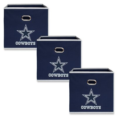 NFL Fabric Storage Bin NFL Team: Dallas Cowboys 11000-301DAL