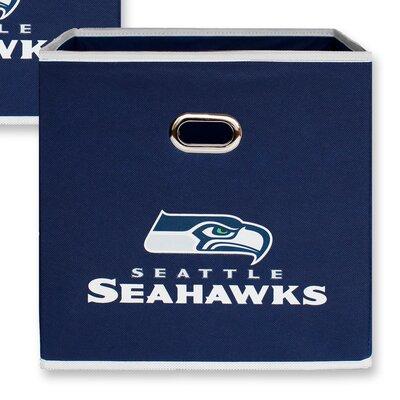 NFL Fabric Storage Bin NFL Team: Seattle Seahawks 11000-000SEA