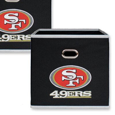 NFL Fabric Storage Bin NFL Team: San Francisco 49ers 11000-003SAN