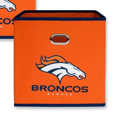 NFL Fabric Storage Bin NFL Team: Denver Broncos 11000-009DEN