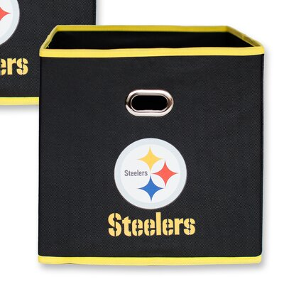 NFL Fabric Storage Bin NFL Team: Pittsburgh Steelers 11000-003PIT