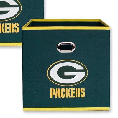 NFL Fabric Storage Bin NFL Team: Green Bay Packers 11000-010GBP