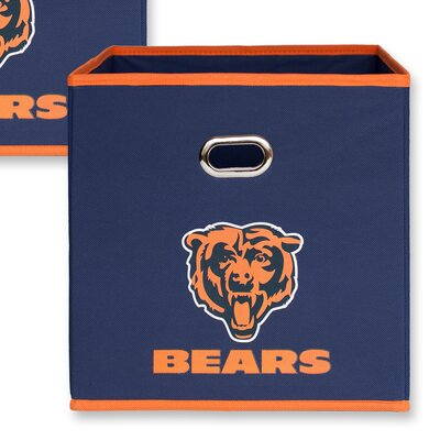 NFL Fabric Storage Bin NFL Team: Chicago Bears 11000-000CHI