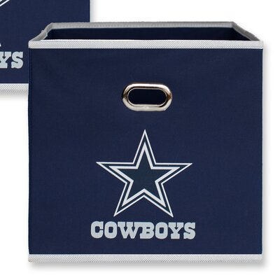 NFL Fabric Storage Bin NFL Team: Dallas Cowboys 11000-001DAL