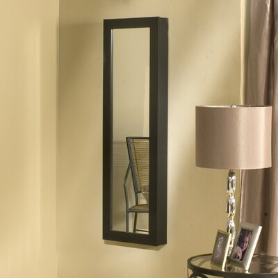 Dalton Home Collection Dalton Home Over-the-Door/Wall-Hang Mirrored Jewelry Armoire - Finish: Black at Sears.com