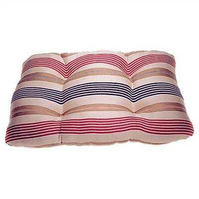 Rectangular Tufted Dog Pillow Size: Medium (27 L x 19 W)