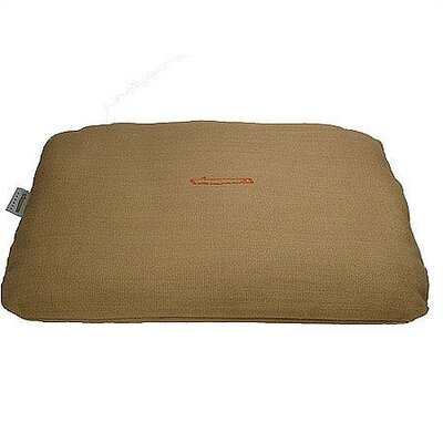 Rectangular Pet Bed Cover in Burlap Size: Small