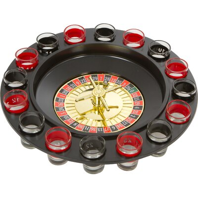 Roulette Spinning Shot Drinking Game EZ-ROULETTE