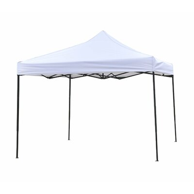 10 Ft. W x 10 Ft. D Canopy 10FTCAN-WHITE