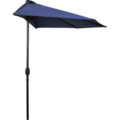 9 Market Umbrella Fabric: Blue