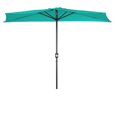 9 Market Umbrella Fabric: Teal