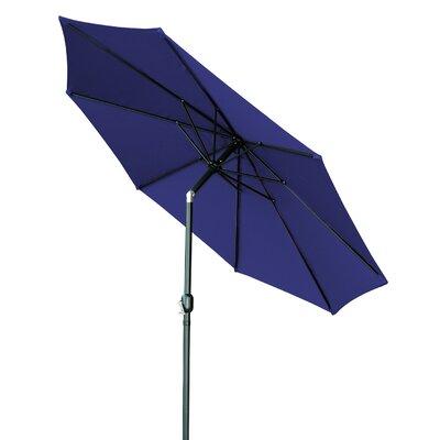 9 Market Umbrella Color: Blue