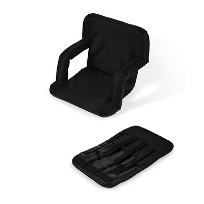 Portable Seat Chair Cushion Fabric: Black