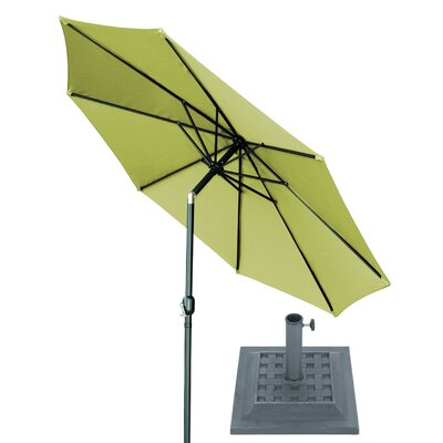 10 Market Umbrella Fabric: Light Green