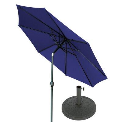 10 Market Umbrella Fabric: Blue