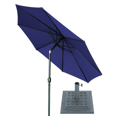 10 Market Umbrella Fabric: Blue