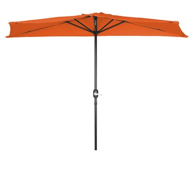 9 Market Umbrella Fabric: Orange