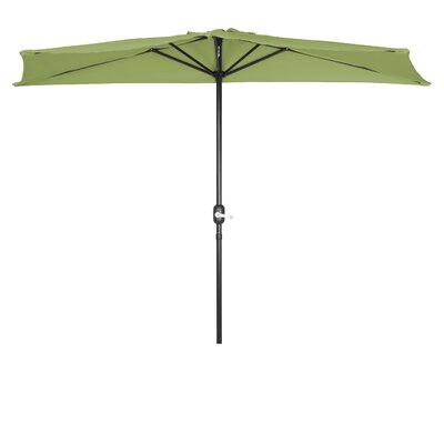 9 Market Umbrella Fabric: Light Green